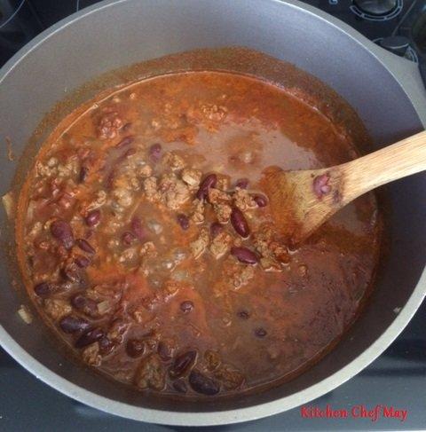 chili con carne la cuisine de maylys kitchen chef may. Black Bedroom Furniture Sets. Home Design Ideas