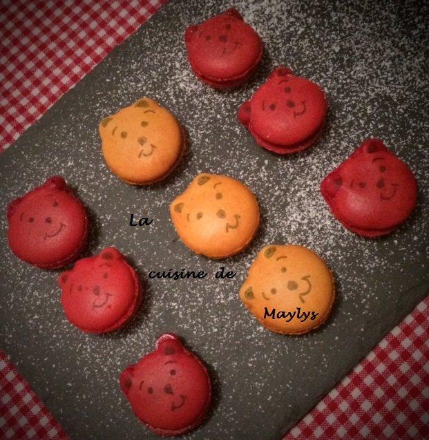 Les Macarons Caramel Au Beurre Sale Winnie L Ourson La Cuisine De