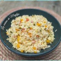 Riz aux légumes avec (ou sans) cookéo